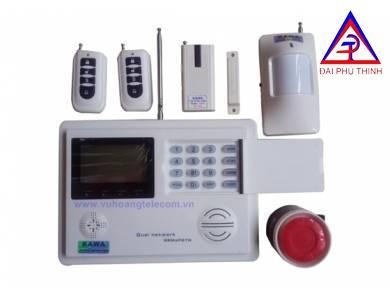 Báo trộm dùng line và sim điện thoại