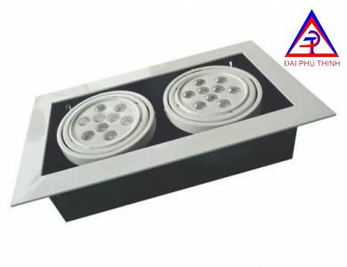 LED DOWNLIGHT SQUARE 9WX2