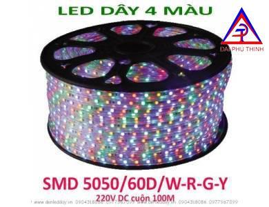 LED 220V 4 màu