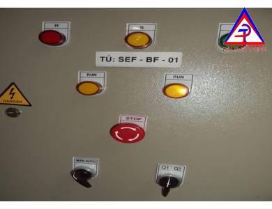 Cung cấp nhãn Tủ điện