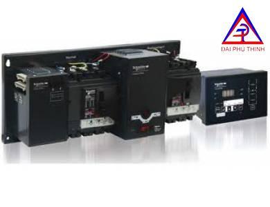 Bộ tự động chuyển đổi nguồn ATS, loại 2 nguồn lưới, 4P 250A 36kA