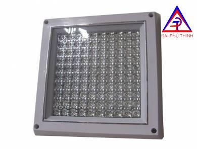 Đèn LED ốp trần mặt vuông 8w