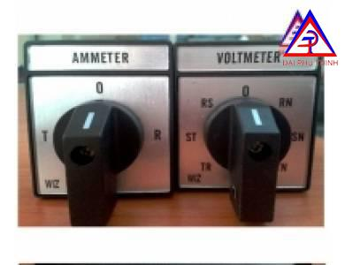 Switch chuyển Volt - Ampere