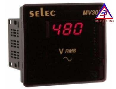 Đồng hồ volt hiện số 96x96